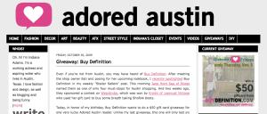 Adored Austin